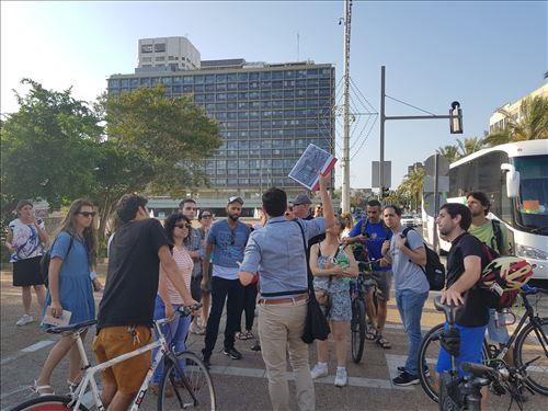 פורום הולכים רוכבים בתל אביב-יפו